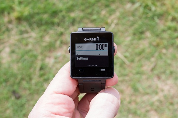 Garmin-Vivoactive-Settings-Menu