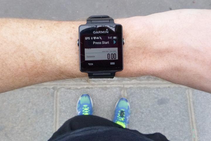 Garmin-Vivoactive-Start-GPS-Sensors