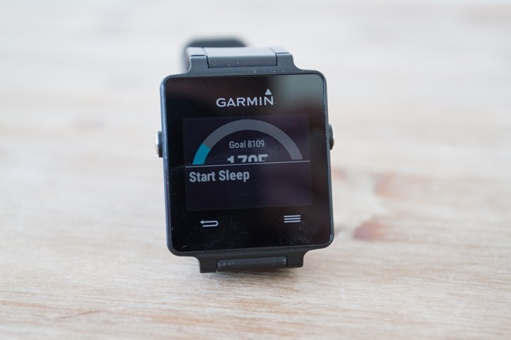 Garmin-Vivoactive-Start-Sleep