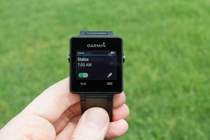 Garmin-Vivoactive-Time-Alerts