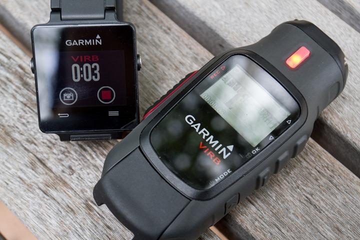 Garmin-Vivoactive-VIRB-Recording