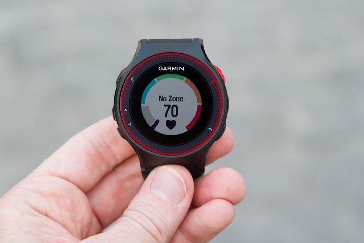 Garmin-FR225-HR-Gauge-Page