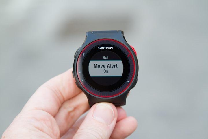 Garmin-FR225-Move-Alert