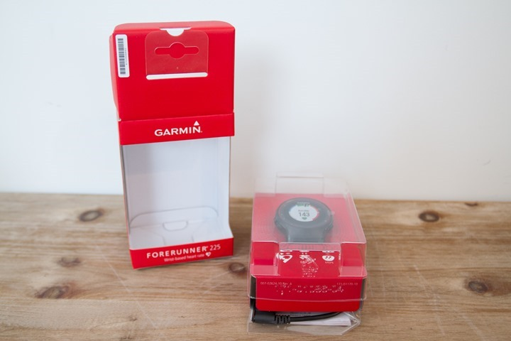 Garmin-FR225-Unboxing