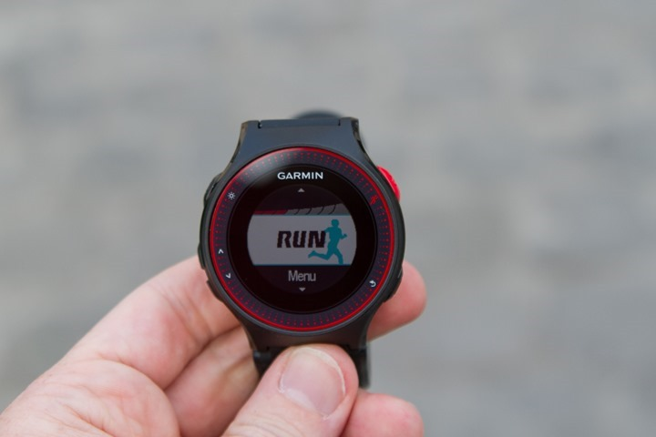 GarminFR225-FindingGPS