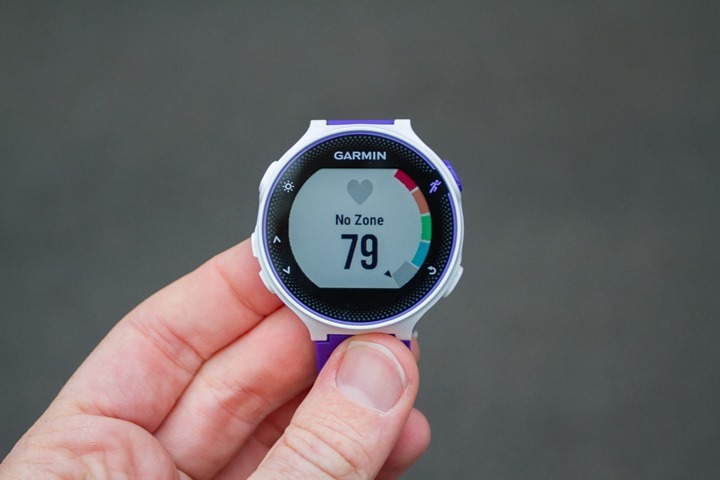 Garmin-FR230-HR-Gauge