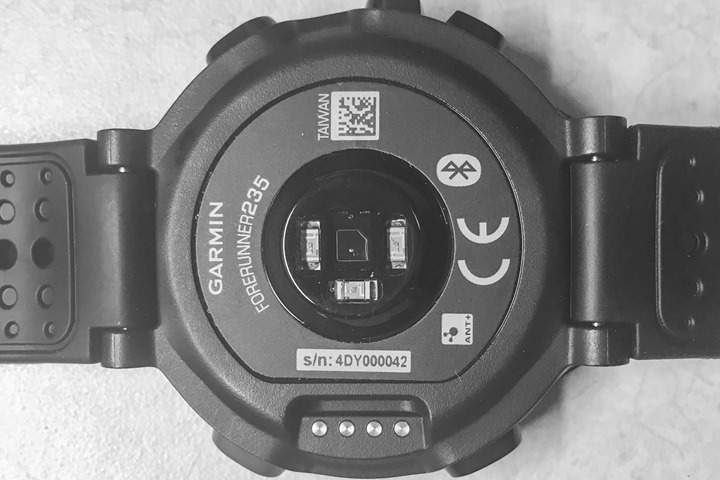 Garmin-FR235-OpticalSensor