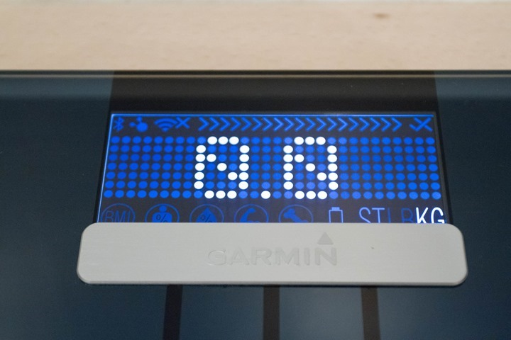 Garmin U2019s New Index Smart Wifi Weight Scale  Hands