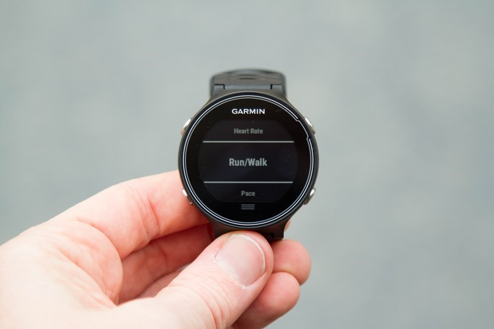 Garmin-FR630-Run-WalkMode