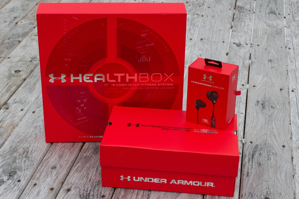 640bfe18 Under Armour's HealthBox: WiFi Scale, Fitness Band, HR Strap, and ...