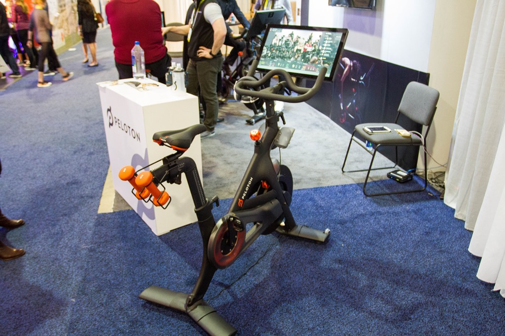 Peloton S Interesting Indoor Cycling Bike Platform Dc