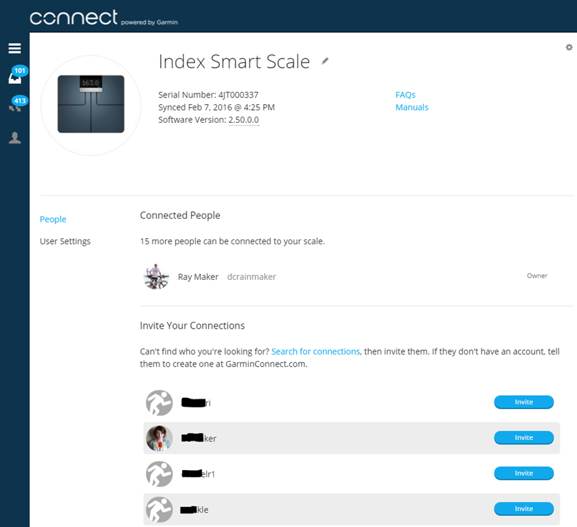 Garmin Index WiFi Smart Scale In-Depth Review | DC Rainmaker