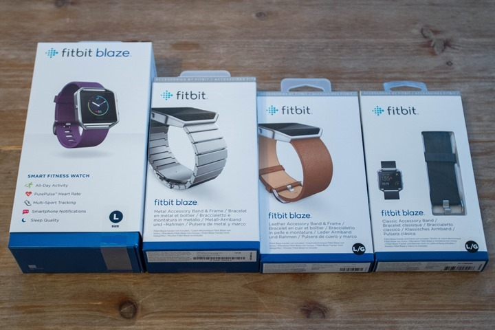 Fitbit Blaze In-Depth Review | DC Rainmaker