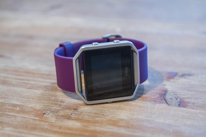 Fitbit-Blaze-Unboxing-Watch