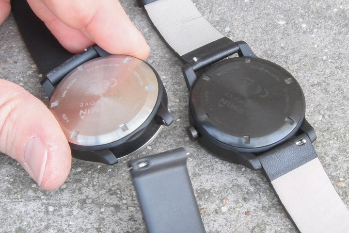 Garmin-Vivomove-Band-Removal