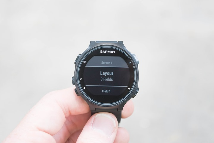 Garmin-FR735XT-Running-Data-Fields
