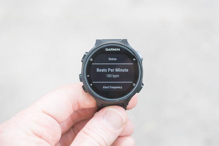 Garmin-FR735XT-Running-Metronome