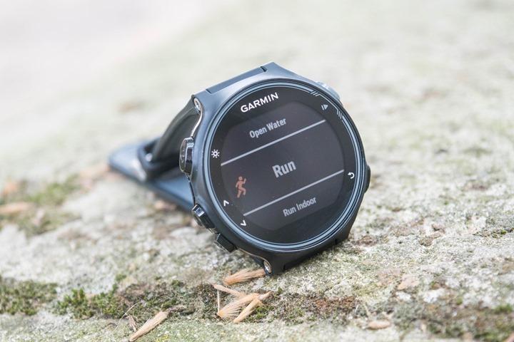 Garmin-FR735XT-RunningMode