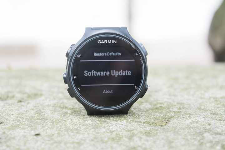 Garmin-FR735XT-Software-Update