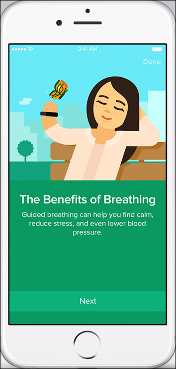 Fitbit Charge 2_Fitbit App_iOS_Relax_Benefits Of Breathing