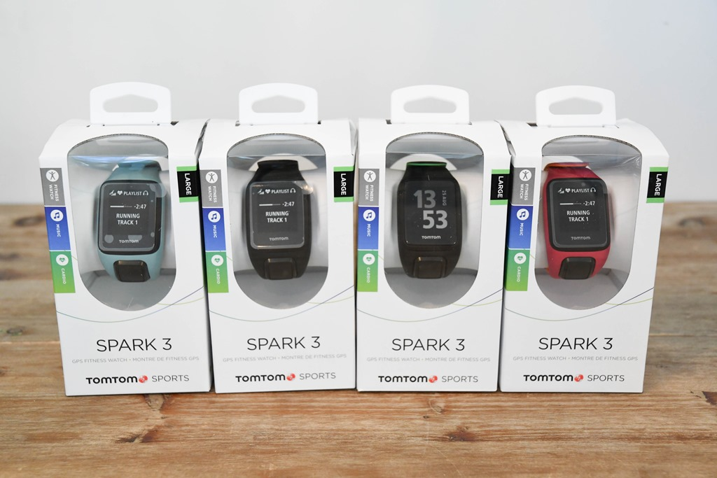 TomTom announces Spark 3 GPS Watch, Adventurer hiking watch, and