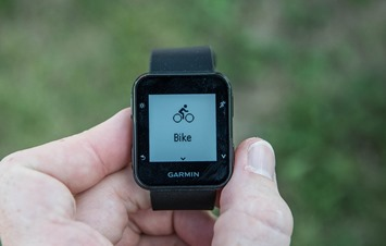 Garmin-FR35-Bike-Mode