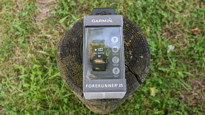 Garmin-FR35-Box-On-A-Log