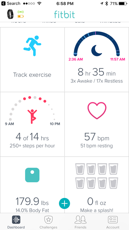 how to change exercise on fitbit charge 2