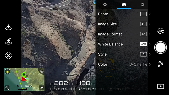DJI_Mavic-Image-Settings