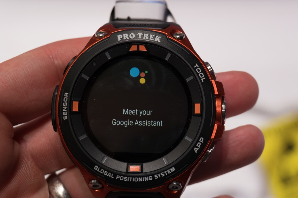 First Look: The Casio Pro Trek Smart Android Wear GPS ...