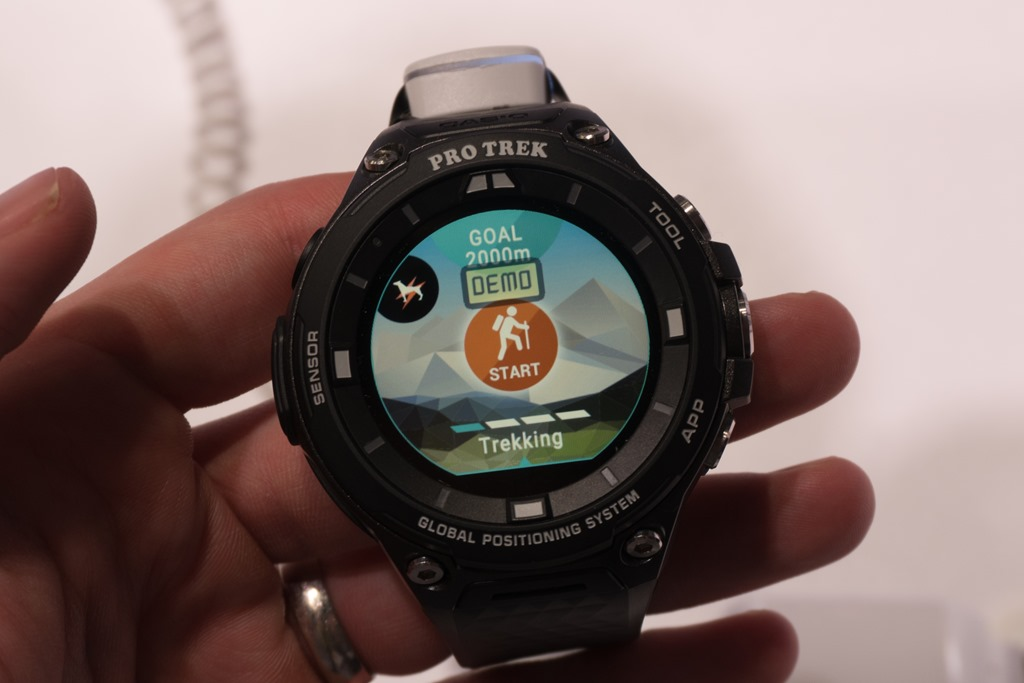 First Look The Casio Pro Trek Smart Android Wear Gps