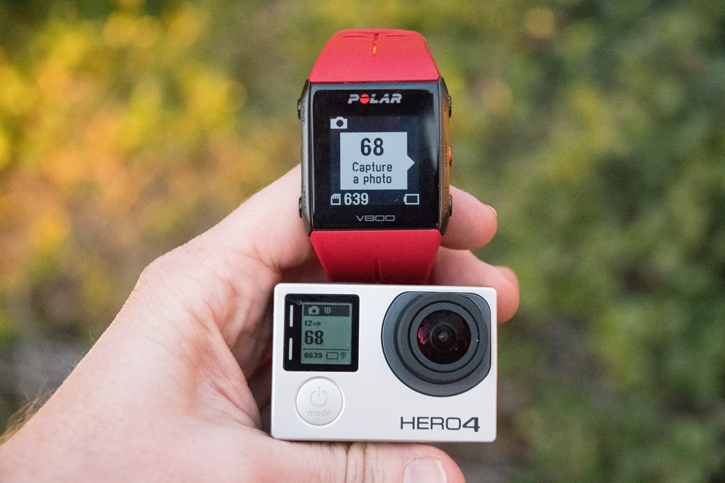 Polar shows off GoPro camera control, new H10 heart rate