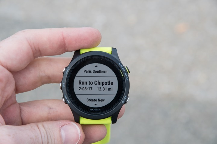 Garmin-FR935-Run-Course
