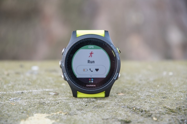Garmin-FR935-Run-Mode