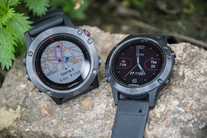 Garmin-Fenix5-5X-Mapping-Watchface