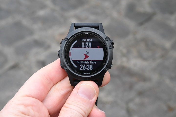 Garmin-Fenix5-CoursePacing