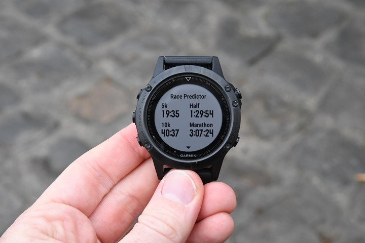 Garmin-Race-Predictor