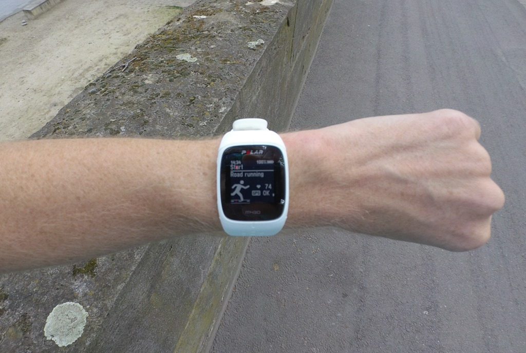 d4df9bfbd7b Hands-on  Polar s M430 GPS watch with optical HR