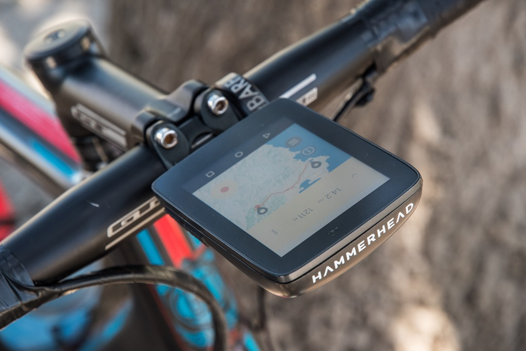 Gps Bike Computer >> Hands On Hammerhead S New Karoo Gps Bike Computer Dc