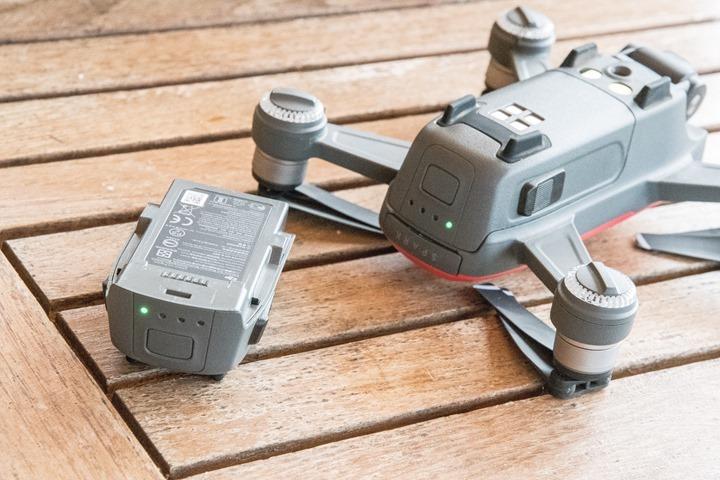DJI-Spark-BatteryPower