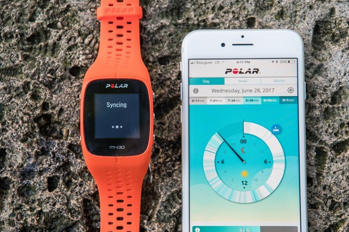 Polar-M430-Basics-Sync-Activity-Tracking