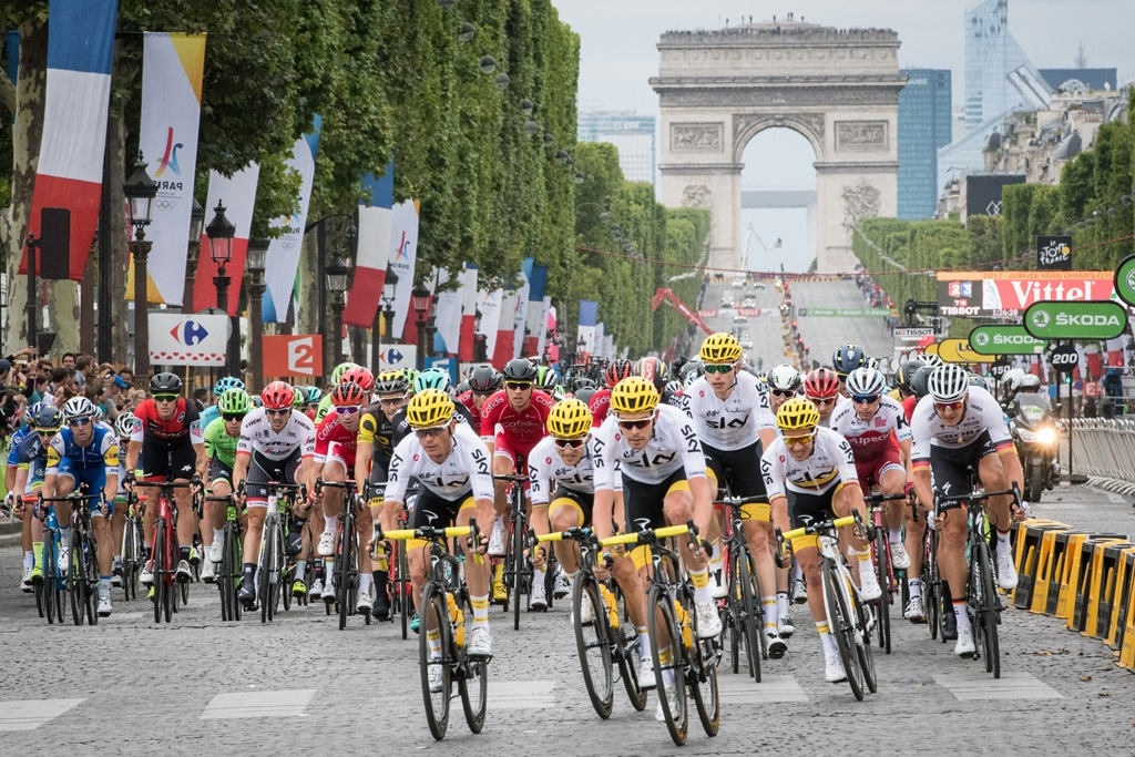 Tour de France 2017- The Finish in Paris | DC Rainmaker