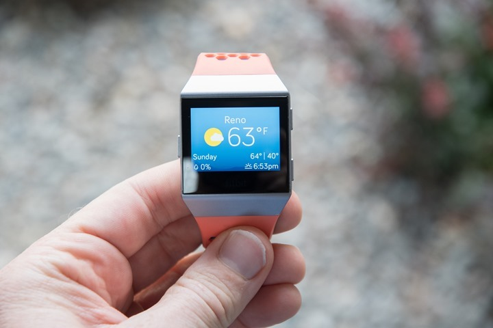 Fitbit-Ionic-Weather