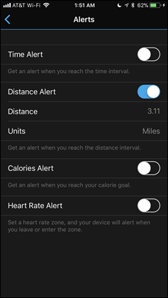 Vivosport-Alerts-Mode