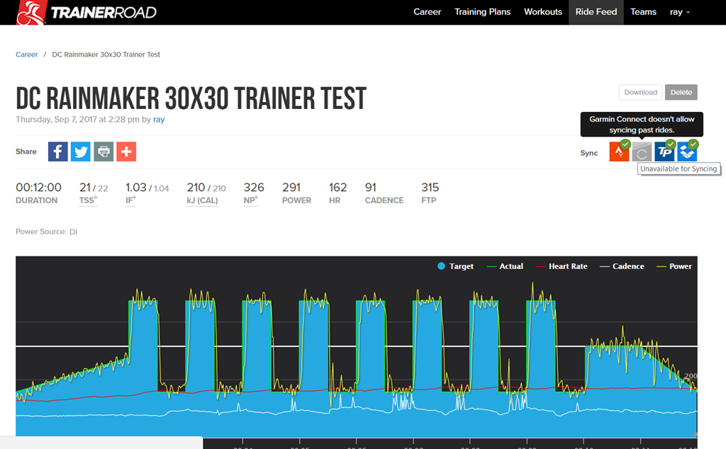TrainerRoad adds Garmin Cycling Dynamics support, plus