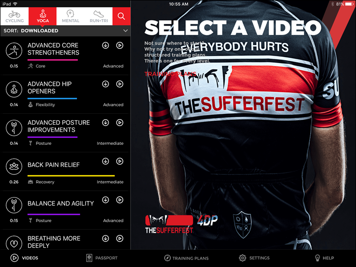 Thumbnail Credit (dcrainmaker.com): Now, power meter training veterans will likely say that what Sufferfest is doing isn't anything different than what came before them.