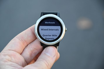 Garmin-Vivoactive3-Workout-Selector