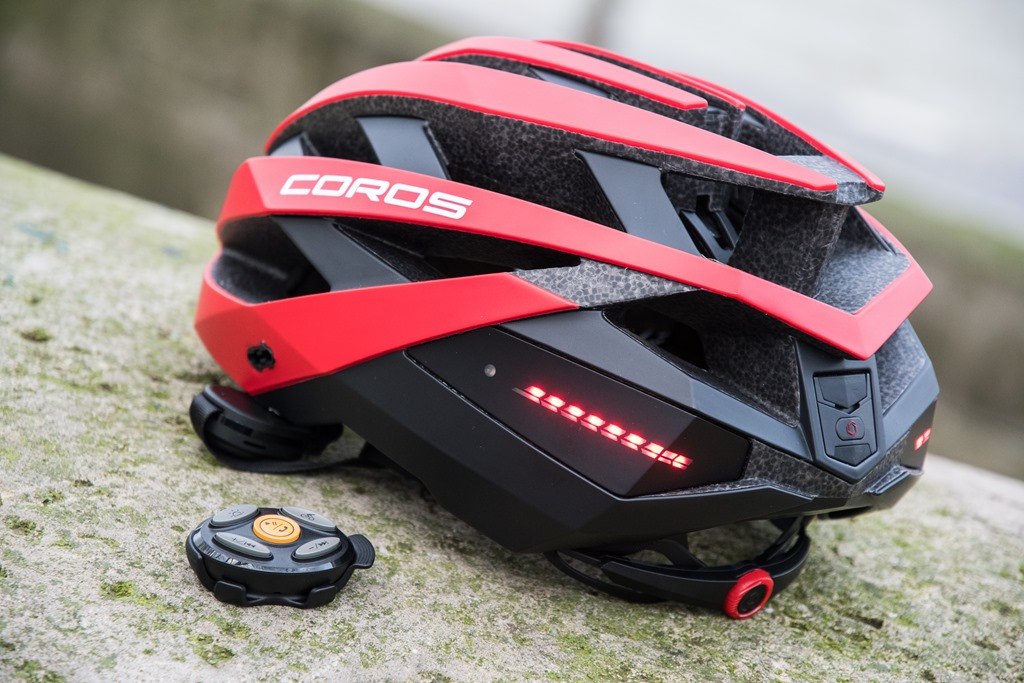 62782f80b99 It's been one year since COROS burst onto the scene with their COROS Linx  Smart helmet. The main appeal of the helmet was that it had not only  jawbone ...