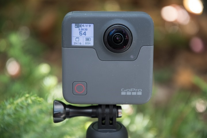 GoPro Fusion 360° Action Camera In-Depth Review | DC Rainmaker