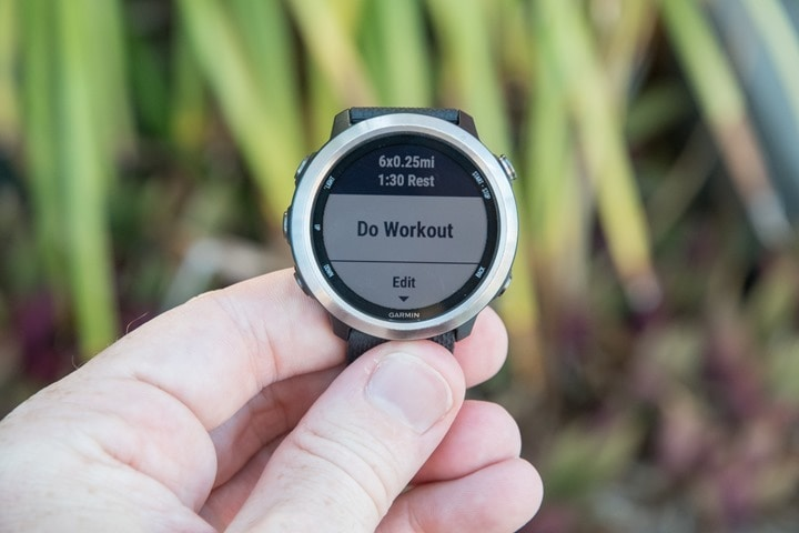Garmin-FR645-Interval-Mode